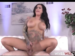 Hot Big Tits Cougar With Tattoos Lily Lane Cheats On Spouse