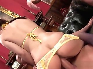 Ravishing Anaya Rails On A Lengthy Member