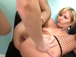 Mouth-watering Slit Of Matures Hotty Is Toughly Team-fucked
