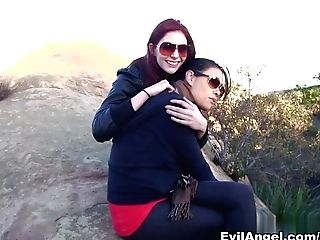 Horny Sex Industry Stars Ashlyn Molloy, Dana Vespoli In Exotic Pussy Eating, Public Adult Vid