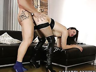 Tall Escort Luke Hardy Gets Picked Up Driven Home And Fucked Decently