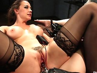 Chanel Preston  Sovereign Syre  Aiden Starr In Electrosluts Introduces: To Sovereign With Love - Electrosluts