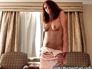 Canadian Mummy Candy Strips Off Her Soiree Sundress