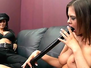 Huge-titted Police Officer Ava Addams Longing For Hard Stick