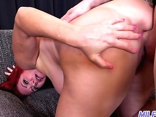 Taking Some Sunburn Sandy-haired Cougar Andi James Doesn't Mind Fucking Mad