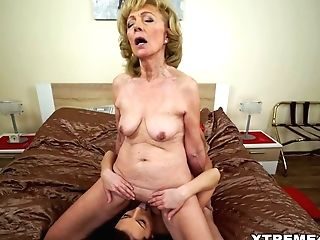 Matures Honey And Her Junior Lezzy Friend