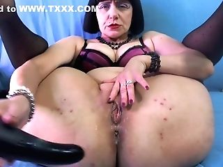 Horny Mummy Squirt Hefty And Take It Deep In The Bootie!