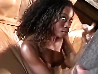 Black Black Tugjob For Milky Man And Creamy Cum Shot