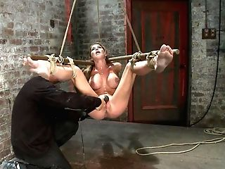 Hot Cougar Suffers The Most Painful Bondagecategory Five Suspension Made To Squirt All Over The Place - Frogtied