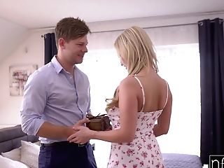 Hot Wifey With Big Natural Titties Georgie Lyall Pleases Her Man