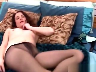 Hot Matures Stunner Fucks Faux-cock