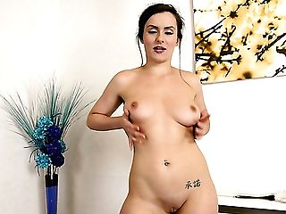 Awesome Striptease Display Performed By Alluring Curvy Maid Charlie Rose
