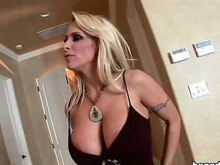 Remaster- Blonde Cougar With Big Tits