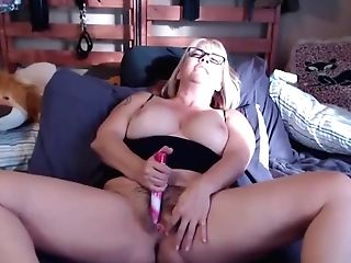 Hairy Mom Joclyn With Sexy Glasses And Lots Of Role Have Fun