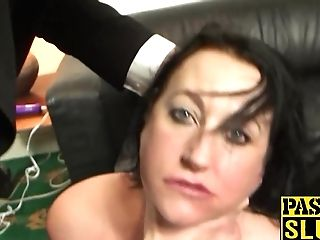 Tattooed Bbw Fat Caboose Cougar Superslut Gets Her Meat Fuckholes Tucked