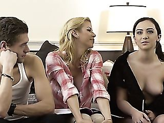 Check Out Not Bad Flick Of Lily Jordan And Lots Of Adult Movie Stars During Interview