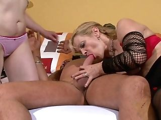 Good Old Wifey Pick Ups Hooker For Her Insatiable Horny Spouse