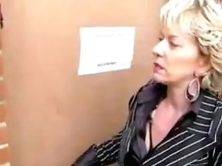 Mummy In Boots Luvs Public Gloryhole Oral Job
