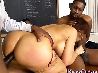 Cuckolding Cougar Sucking And Railing With Syren Demer And Isiah Maxwell