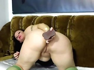 Matures Aunt-in-law Fucks Her Big Butt Plaything
